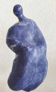 Blauwtje, porselain